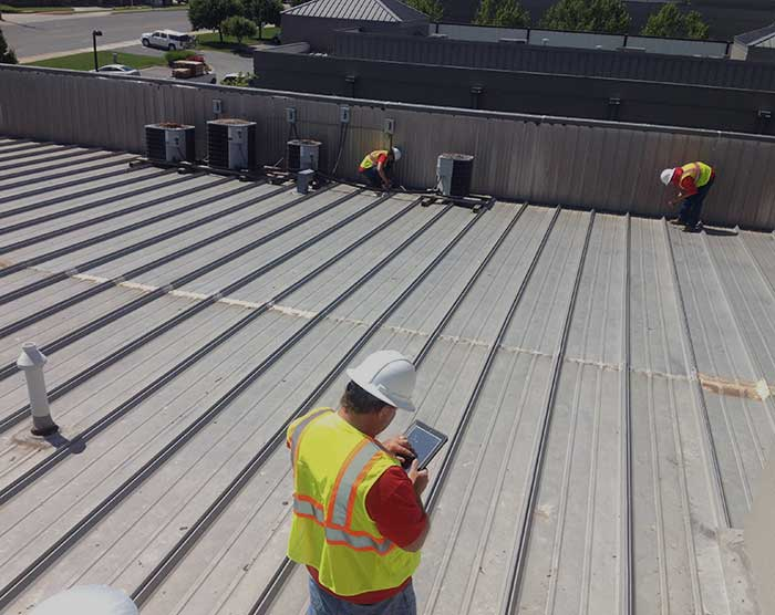 Inspection-roofing